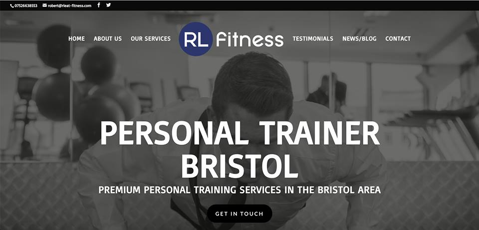 Website review for: https://www.rleat-fitness.com/