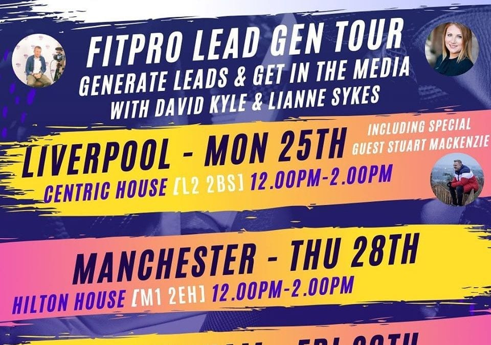 The FitPro Lead Gen Tour 🙌