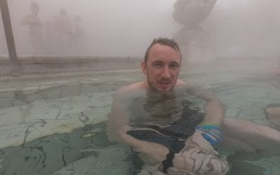 I killed my iPhone in the Thermal Budapest Baths 😰
