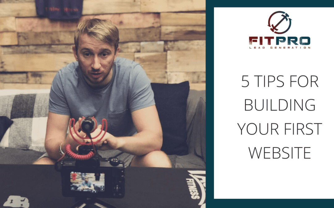 5 Tips for Building Your First Website