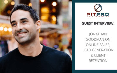 Guest Interview: Jonathan Goodman on Online Sales & Much More