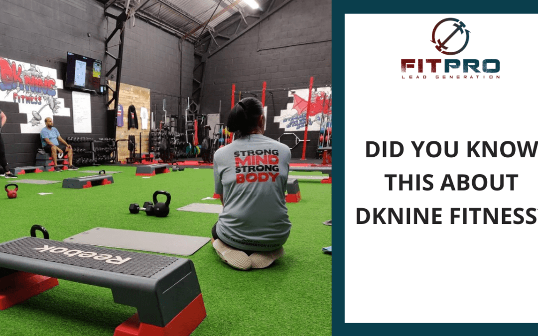 Did You Know This About DKnine Fitness?
