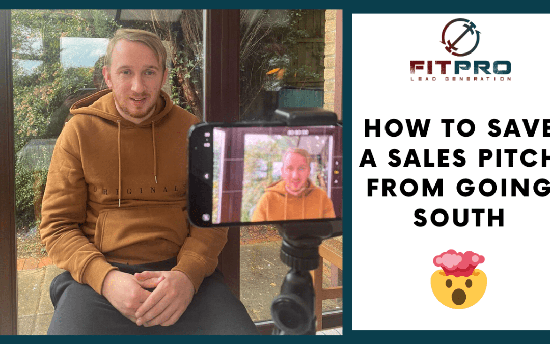 How to Save a Sales Pitch from Going South