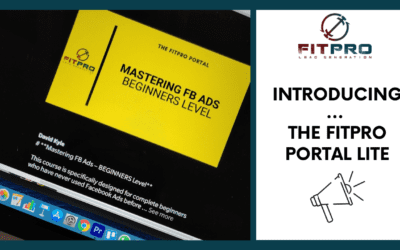 Introducing You to The FitPro Portal Lite 📢