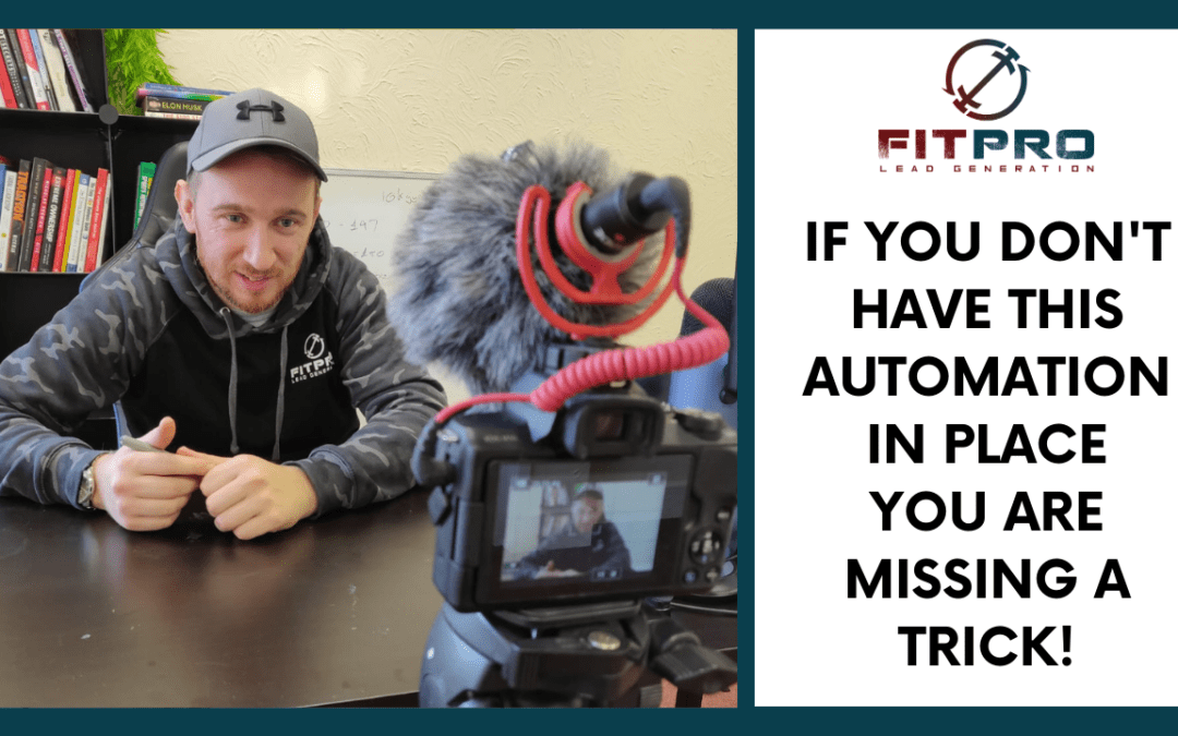 If you Don't Have This Automation you are Missing a Trick!