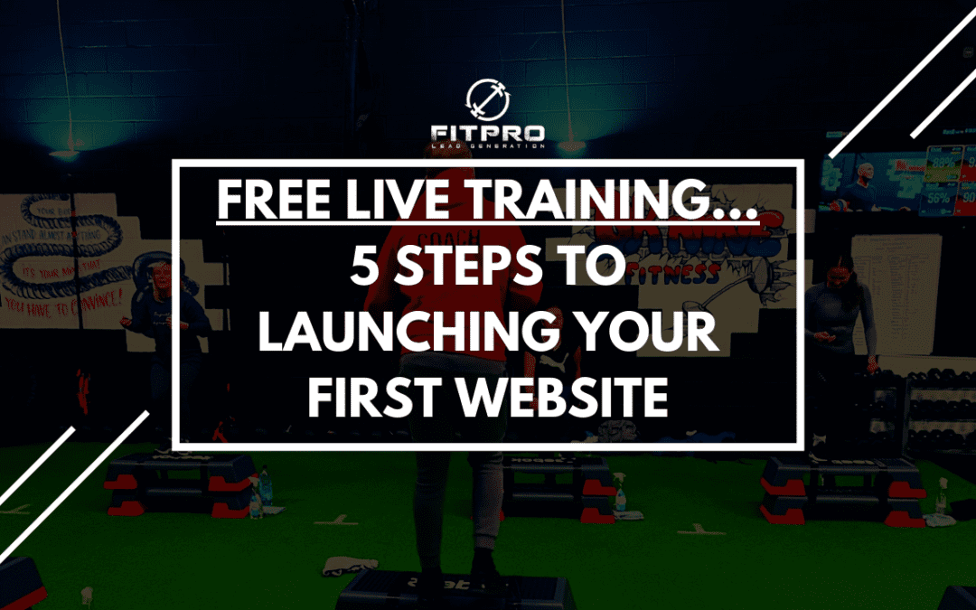 5 Steps To Launching Your First Website