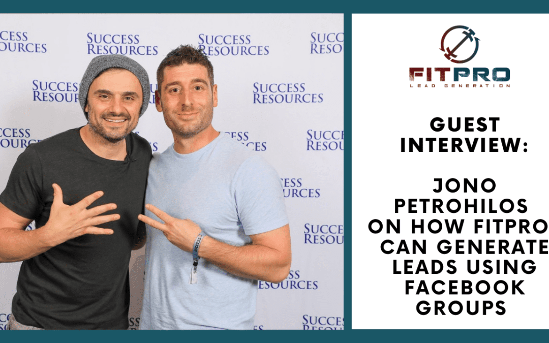 Guest Interview: Jono on Generating Leads Using Facebook Groups