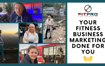 Your Fitness Business Marketing Done for You 💪