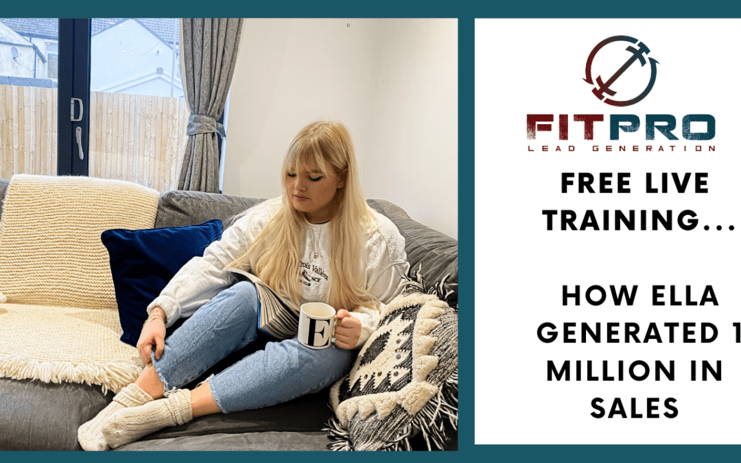 FREE LIVE TRAINING… How Ella Generated 1 Million In Sales