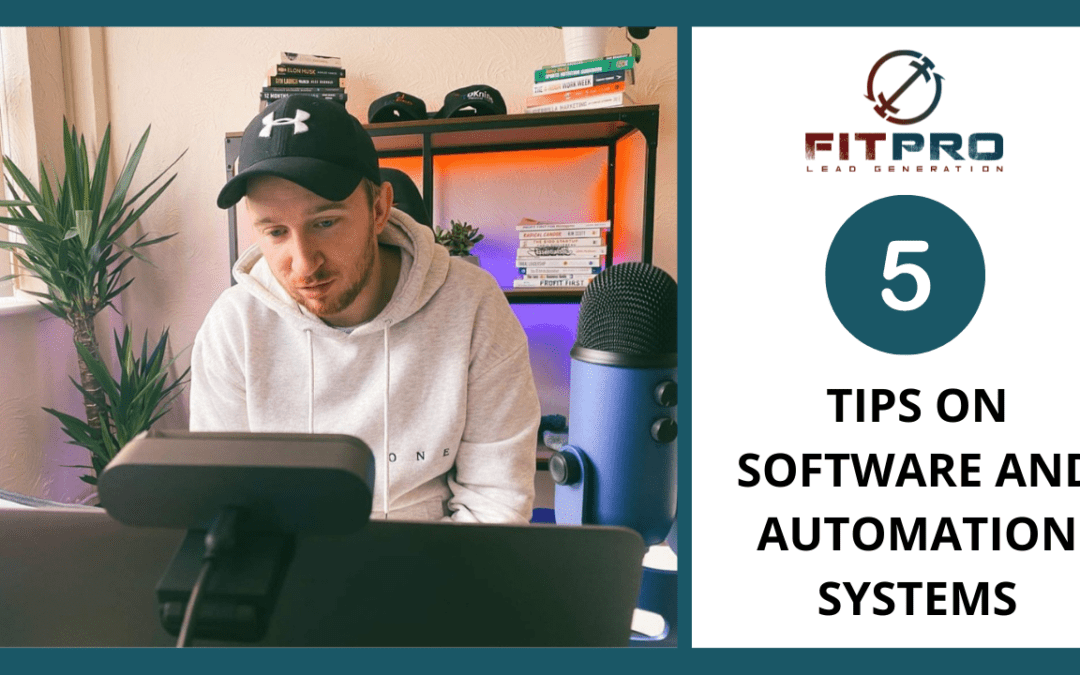 5 Tips on Software and Automation Systems
