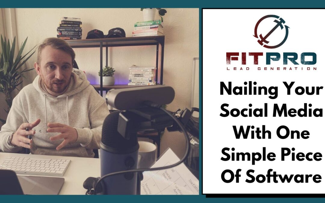 Nailing Your Social Media With One Simple Piece Of Software