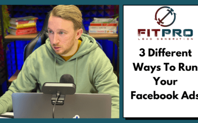3 Different Ways To Run Your Facebook Ads
